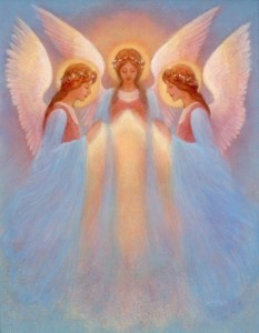 trinity of angels